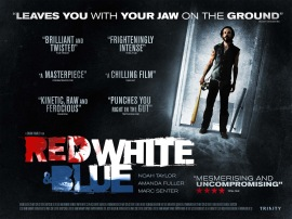'Red White & Blue' poster